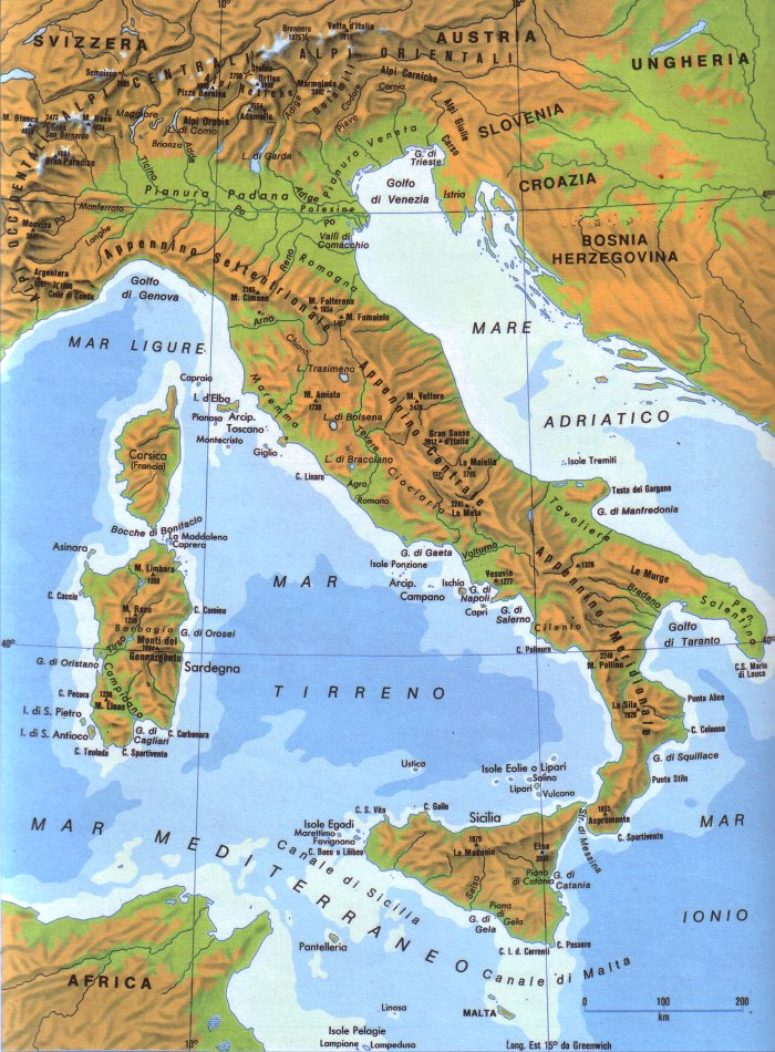 cartina geografica italia picture